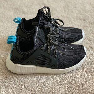 Adidas NMD XR1 PK Camo Utility Black Blue Tab Kids